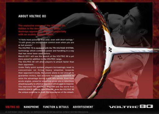 About Yonex Voltric 80
