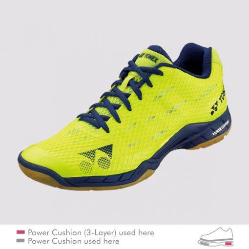 yonex aerus shb am bright yellow
