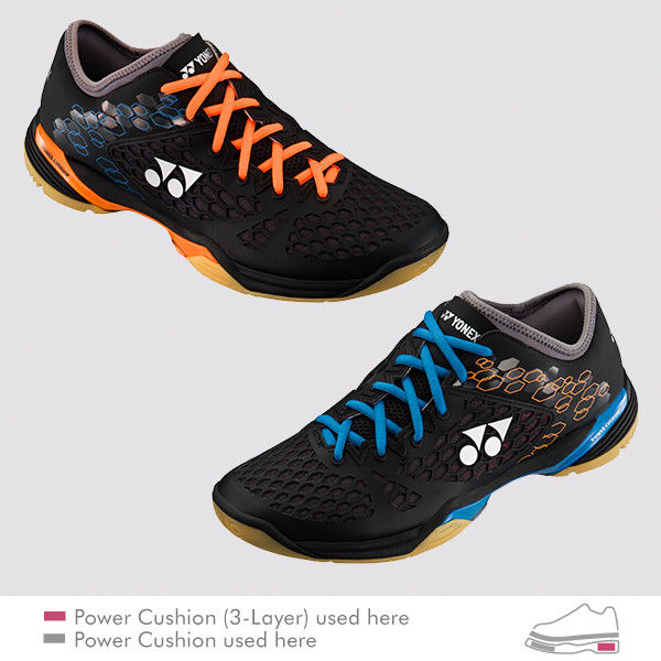 YONEX POWER CUSHION 03Z MENS YELLOW//BLUE