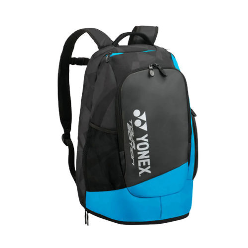 YONEX 9812EX Pro Series Back-Pack Racket Bag Shoes Compartment black blue